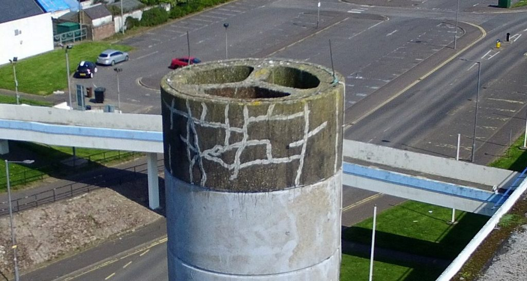 UAV Surveys - Chimney Cleanup