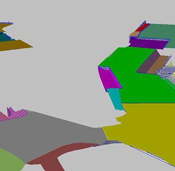 3D dredge model