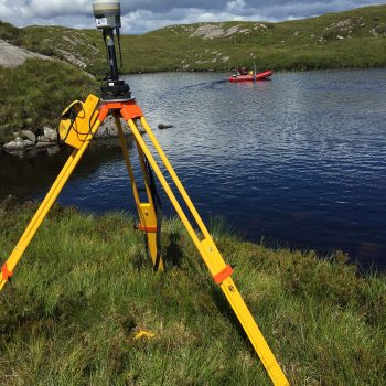singlebeam survey in loch
