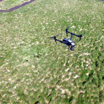 UAV Surveys Inspire2 in flight