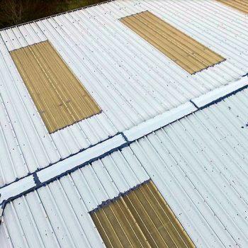 Kingspan roof footage