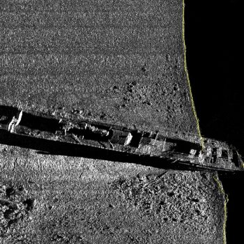 ship wreck side-scan sonar