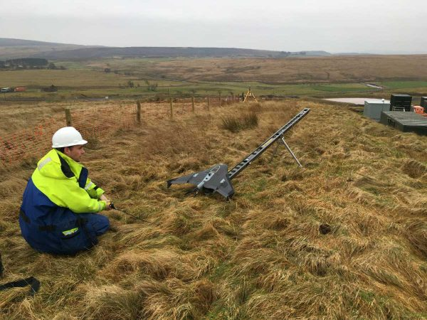 Aspect first with trimble UX5 HP drone