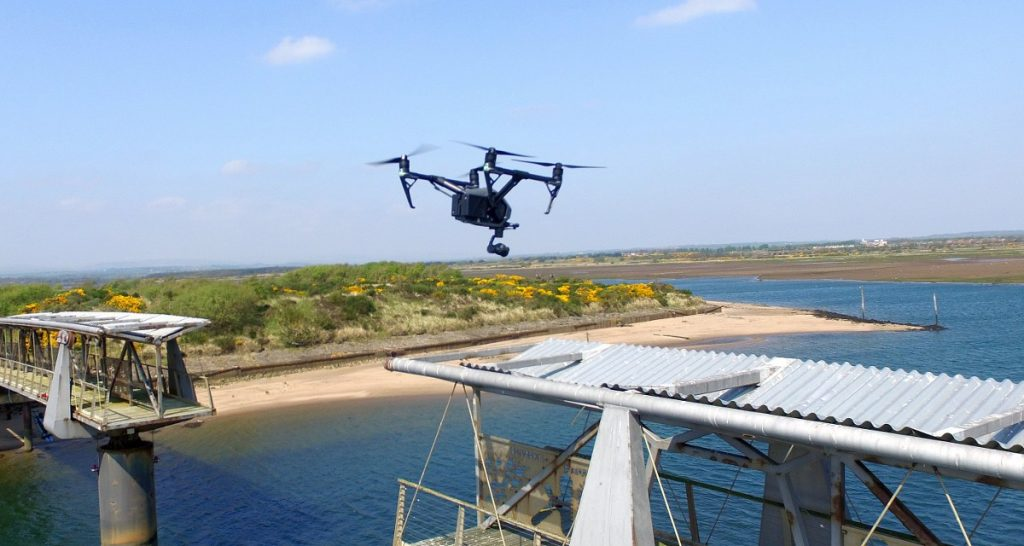 UAV Surveys - Irvine Harbour