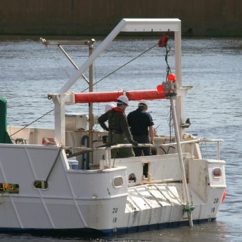 vigilance vibrocore on river clyde